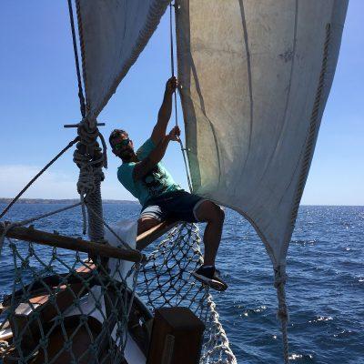 Portugal-Algarve-Gageiro-sailing-Kapitän-Fernando-2